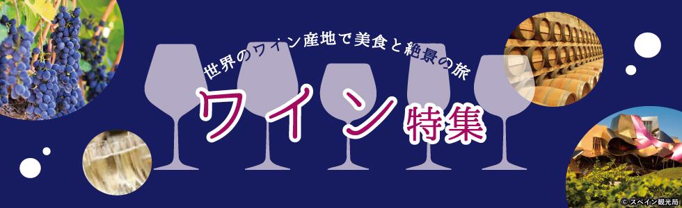 ワイン特集|世界のワイン産地で美食と絶景の旅